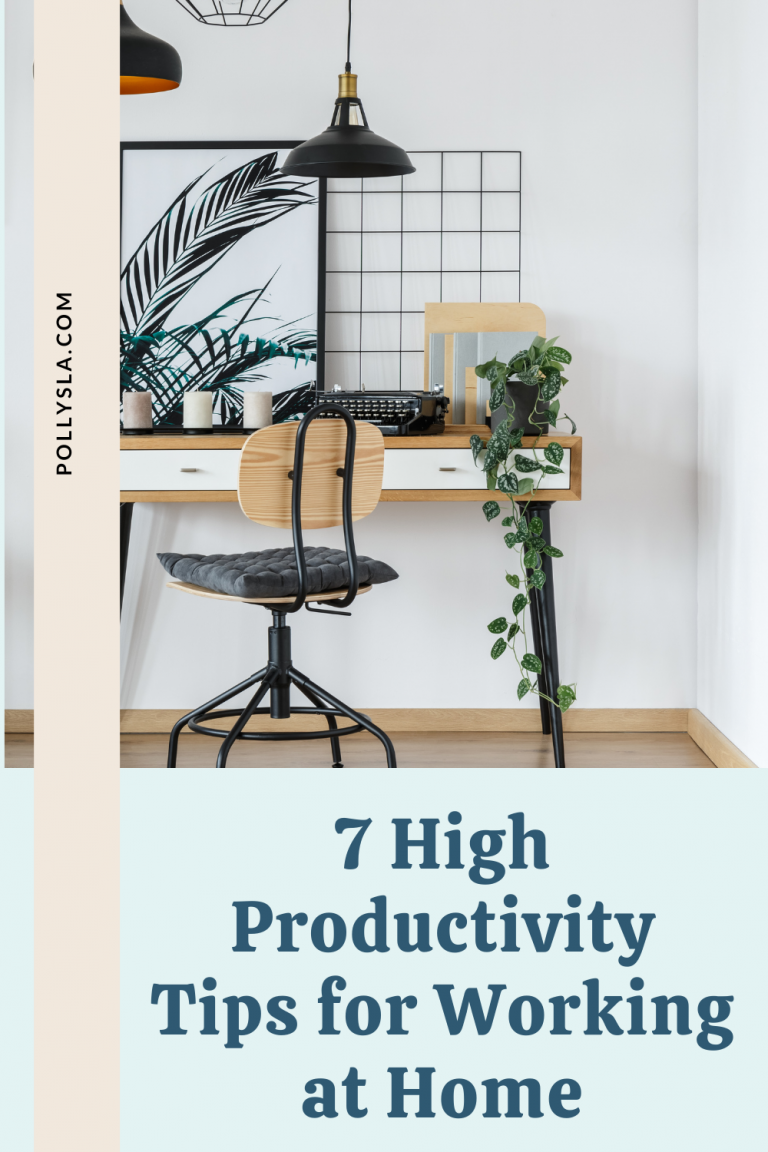 7 high productivity tips for working at home
