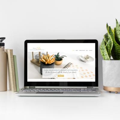 Polly Sla web design